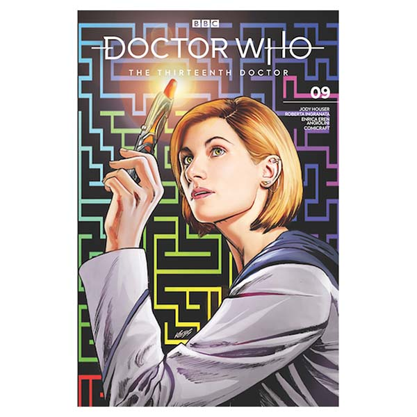 Doctor Who: The Thirteenth Doctor  #9 with Comic-Con Exclusive cover