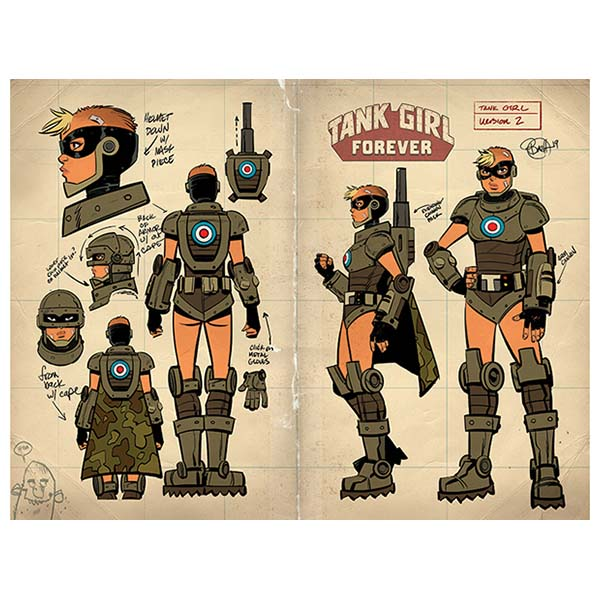 Tank Girl comic #5 with Comic-Con Exclusive cover