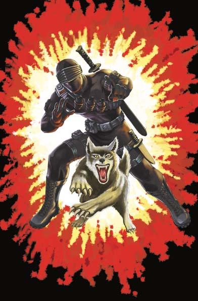 GI Joe Real American Hero #264 Silent Master Variant Cover A