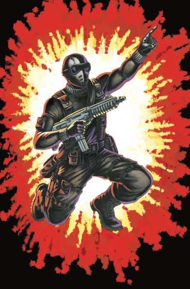 GI Joe Real American Hero #264 Silent Master Variant Cover B