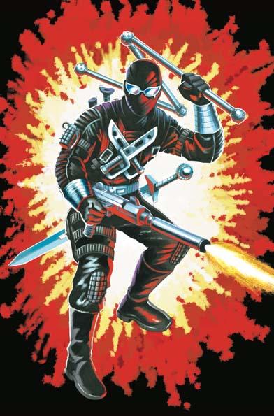 GI Joe Real American Hero #264 Silent Master Variant Cover C