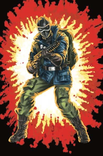 GI Joe Real American Hero #264 Silent Master Variant Cover D