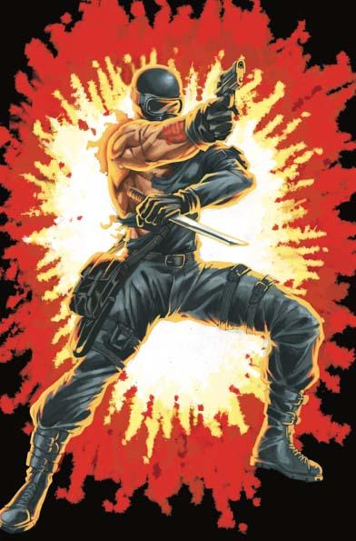 GI Joe Real American Hero #264 Silent Master Variant Cover E