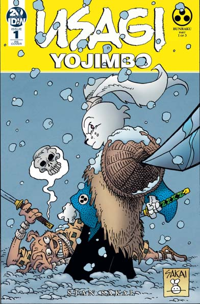 Usagi Yojimbo #1 Launch Tour Exclusive Variant