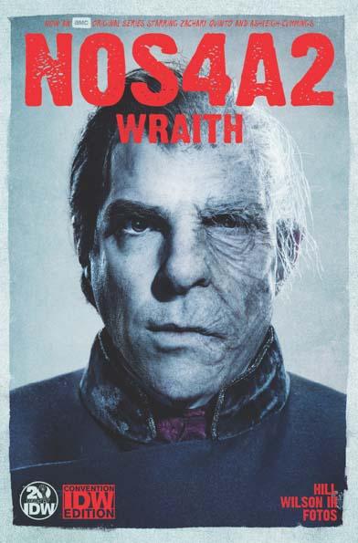 Wraith #7 NOS4A2 Photo Variant cover