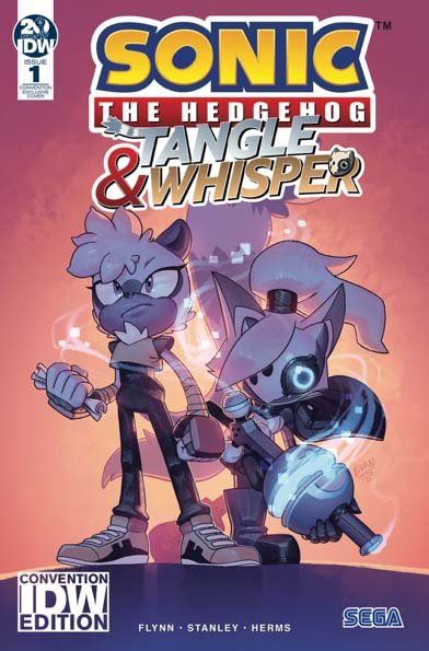 Sonic: Tangle and Whisper #1 Convention Variant