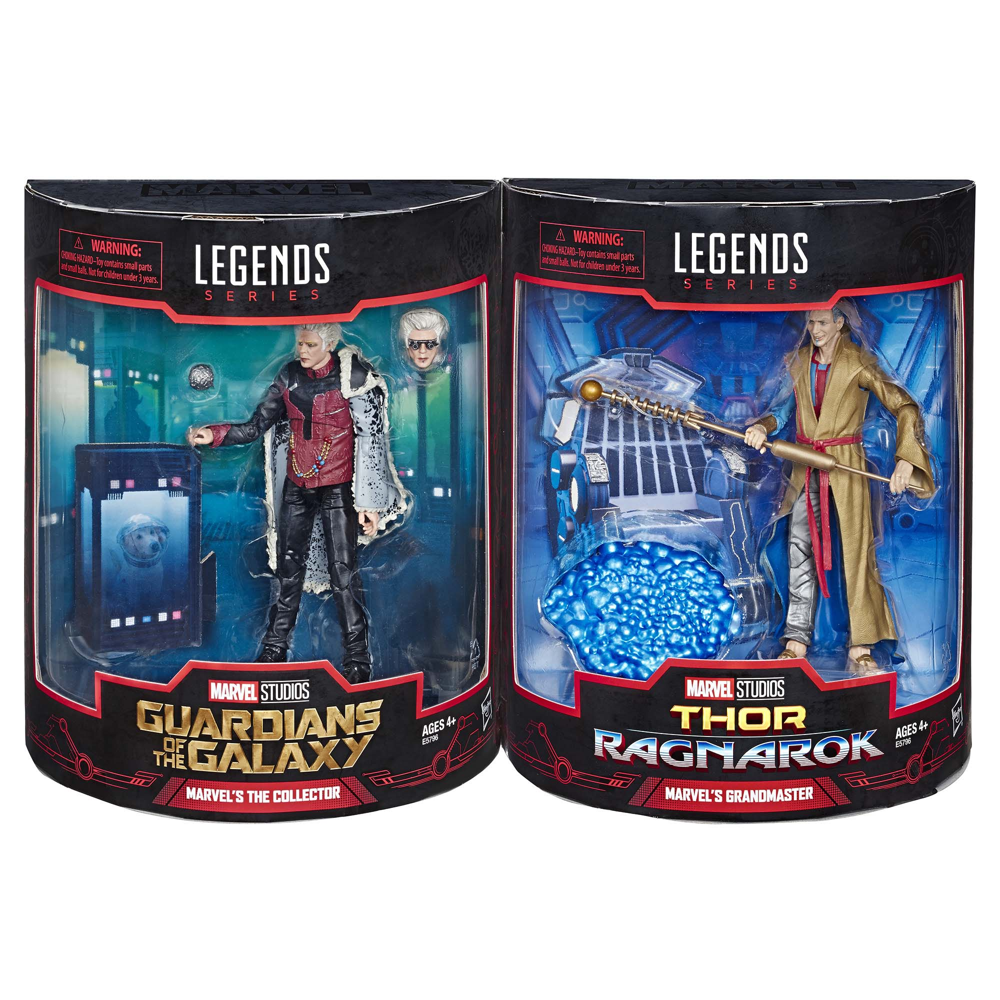 Marvel Legends Series Marvel's The Collector and the Marvel's Grandmaster 2-Pack