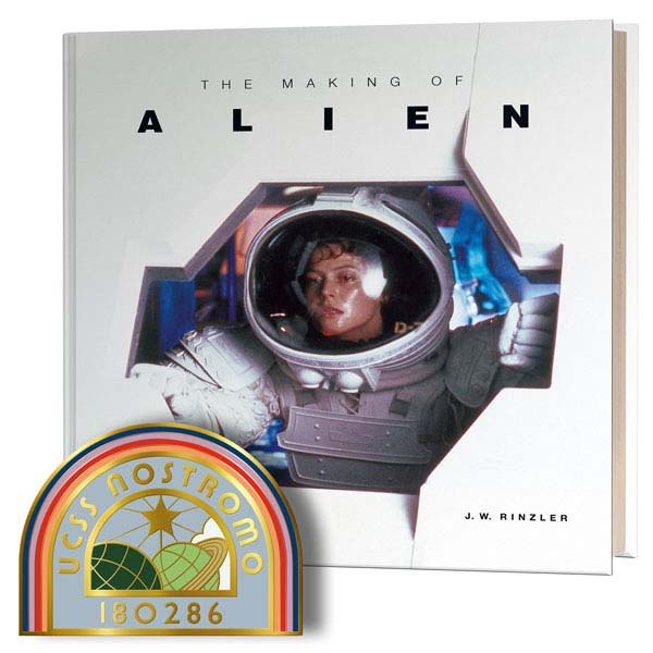The Making of Alien with Limited edition 'Nostromo patch' enamel pin