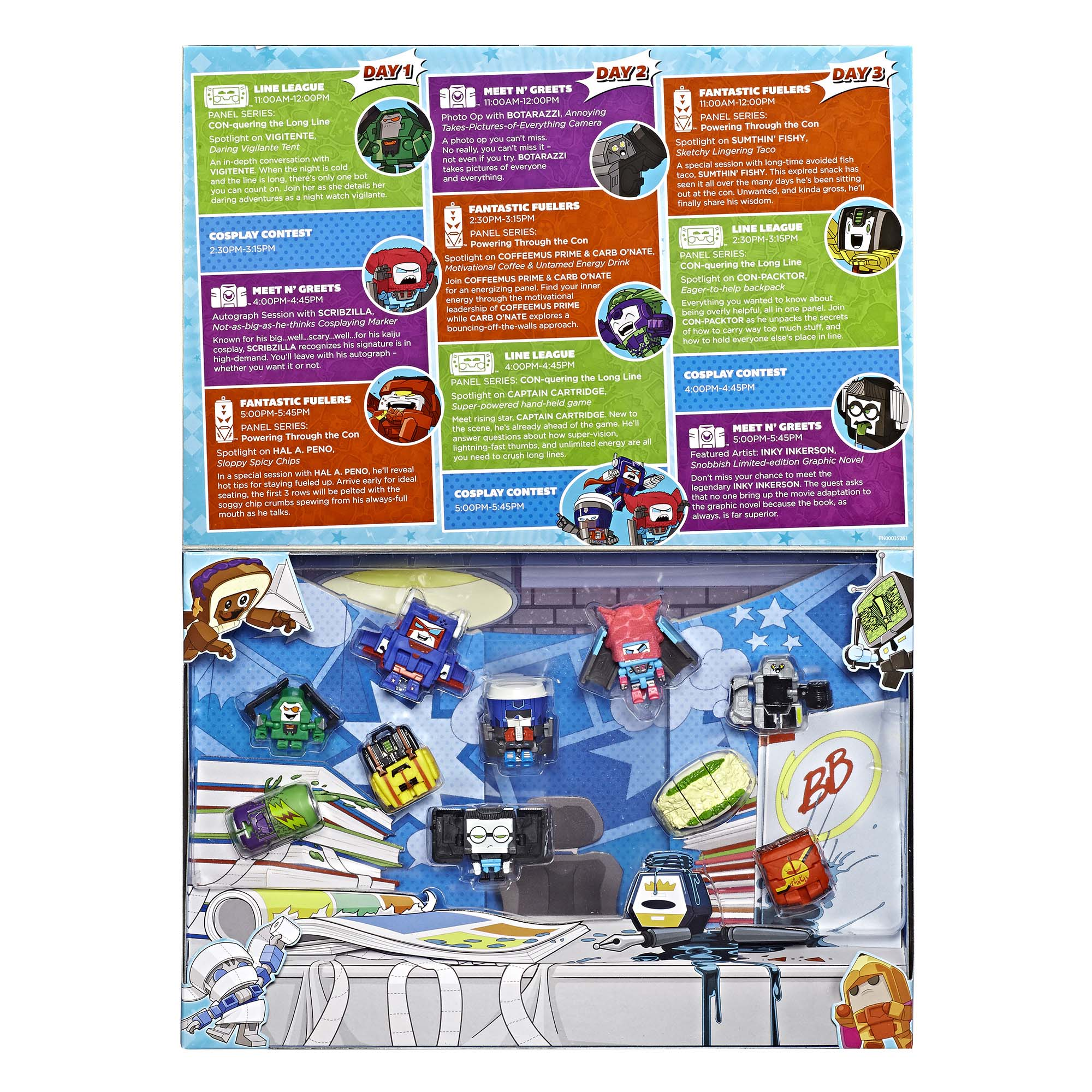 Transformers: BotBots Con Crew 10-Pack