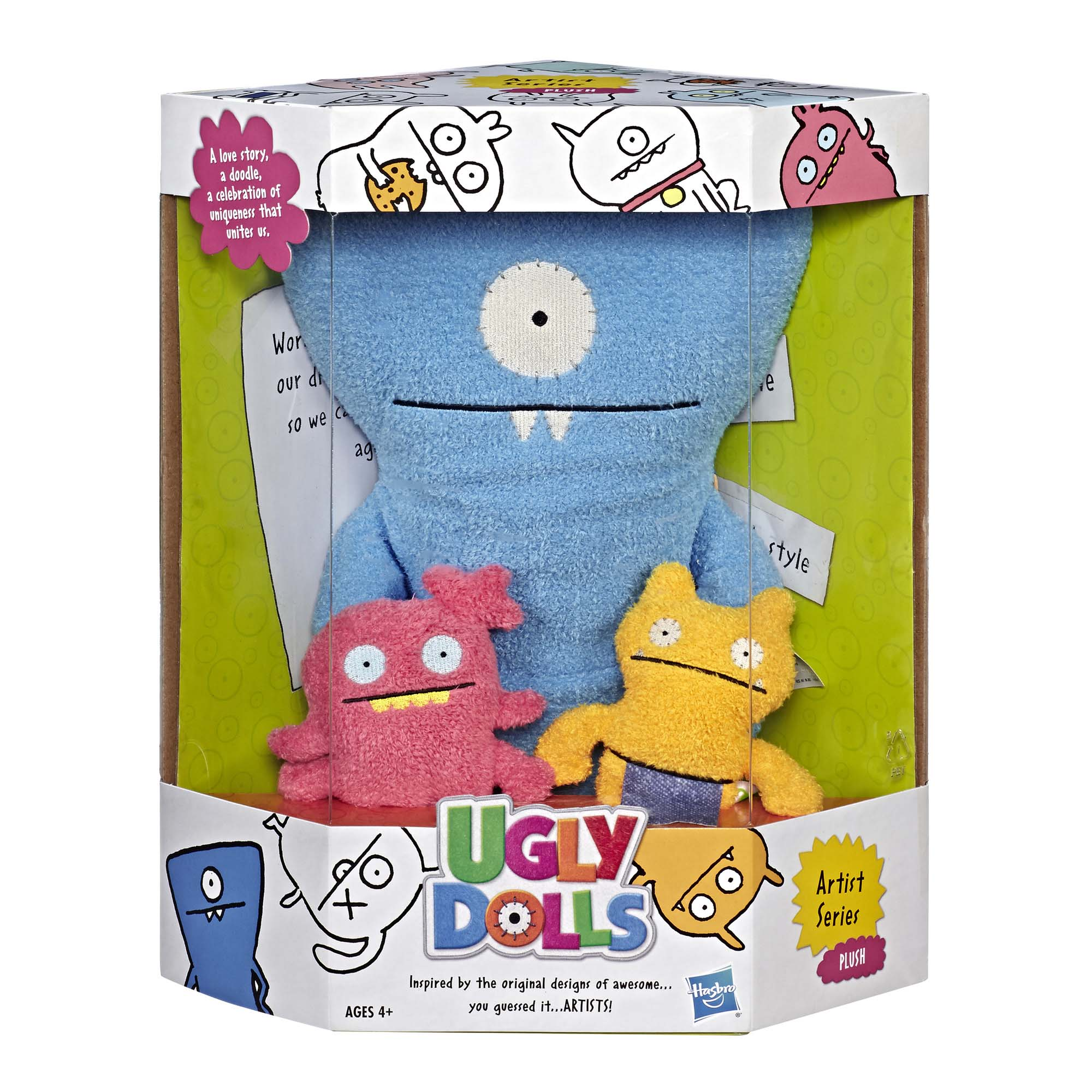 UGLYDOLLS ARTIST SERIES HUG PLUSH CONVENTION EDITION