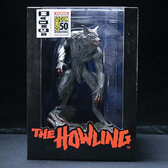 SDCC Exclusive Limited Edition The Howling Statue