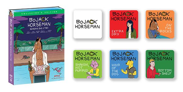 BoJack Horseman: Seasons One & Two + Coaster Set