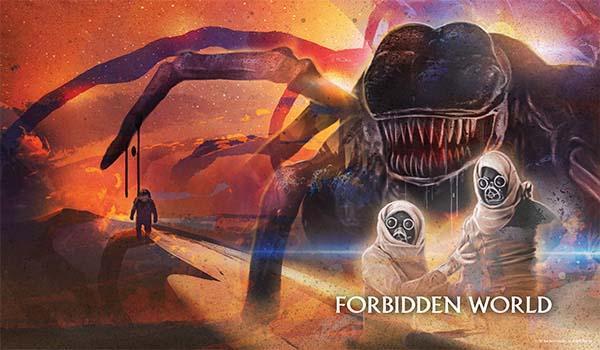 Forbidden World Limited Edition Steelbook + Lithograph