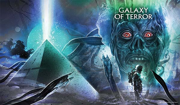 Galaxy Of Terror Limited Edition Steelbook + Lithograph