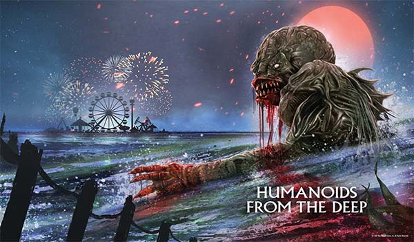 Humanoids From The Deep Limited Edition Steelbook + Lithograph