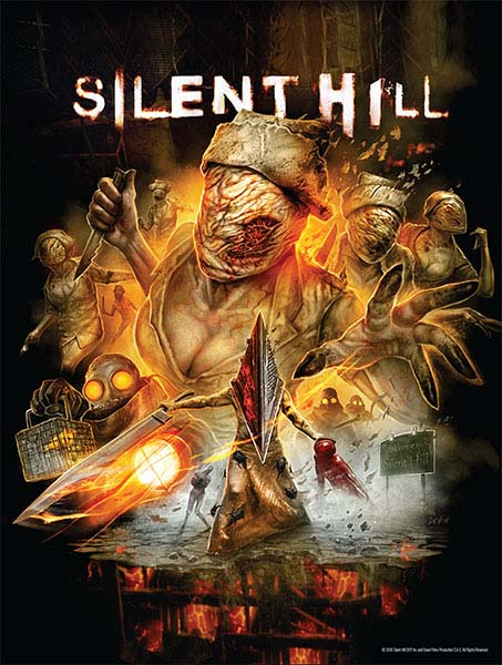Silent Hill: Collector's Edition Blu-ray + Poster