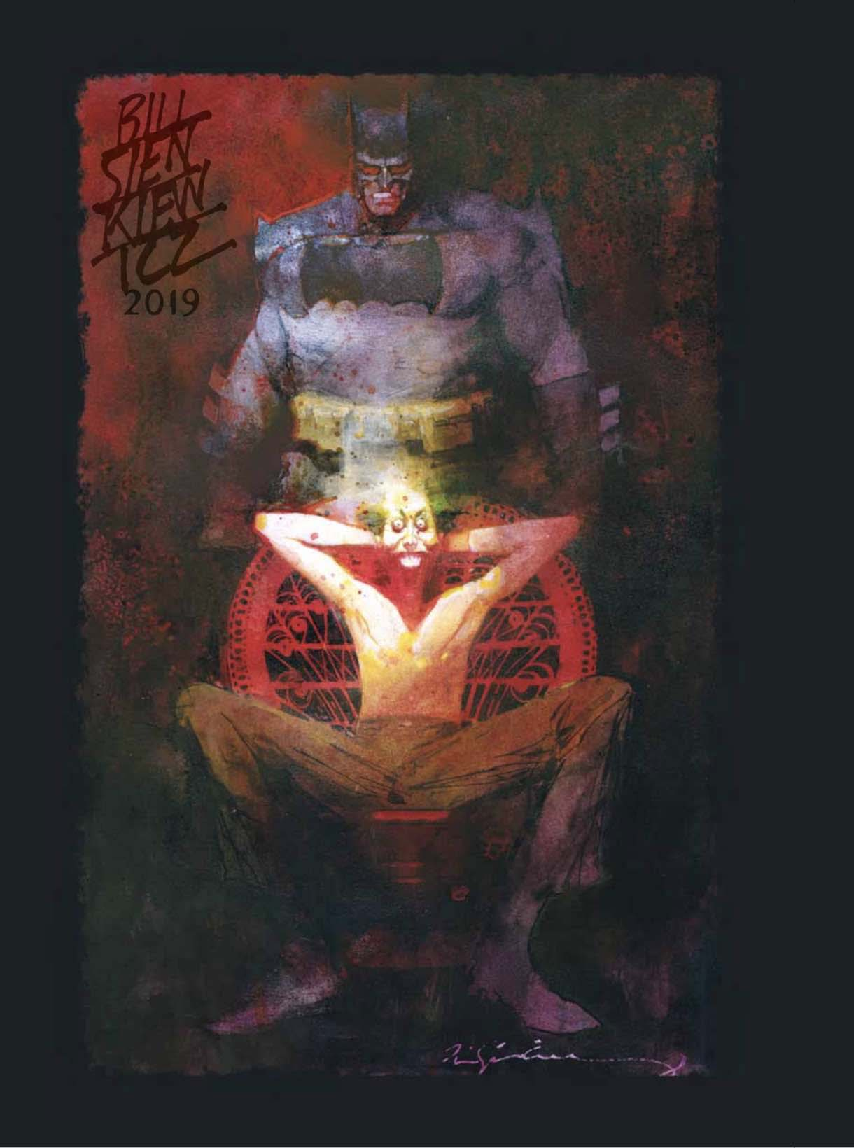 Bill Sienkiewicz's Exclusive Prints for San Diego Comic-Con 2019