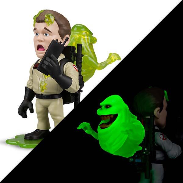 EXCLUSIVE Ghostbusters Slimed Glow-in-the-Dark Figure
