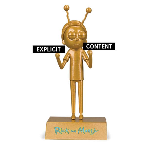 """EXCLUSIVE Morty """"Peace Among Worlds"""" Figure"""