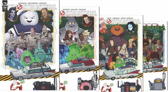 Ghostbusters 35th Anniversary Variant Set Bundle