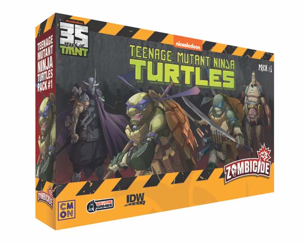 Zombicide TMNT Pack #1