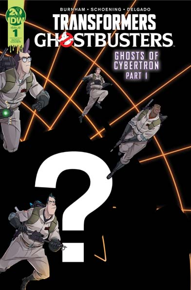 Transformers/Ghostbusters #1 Convention Variant