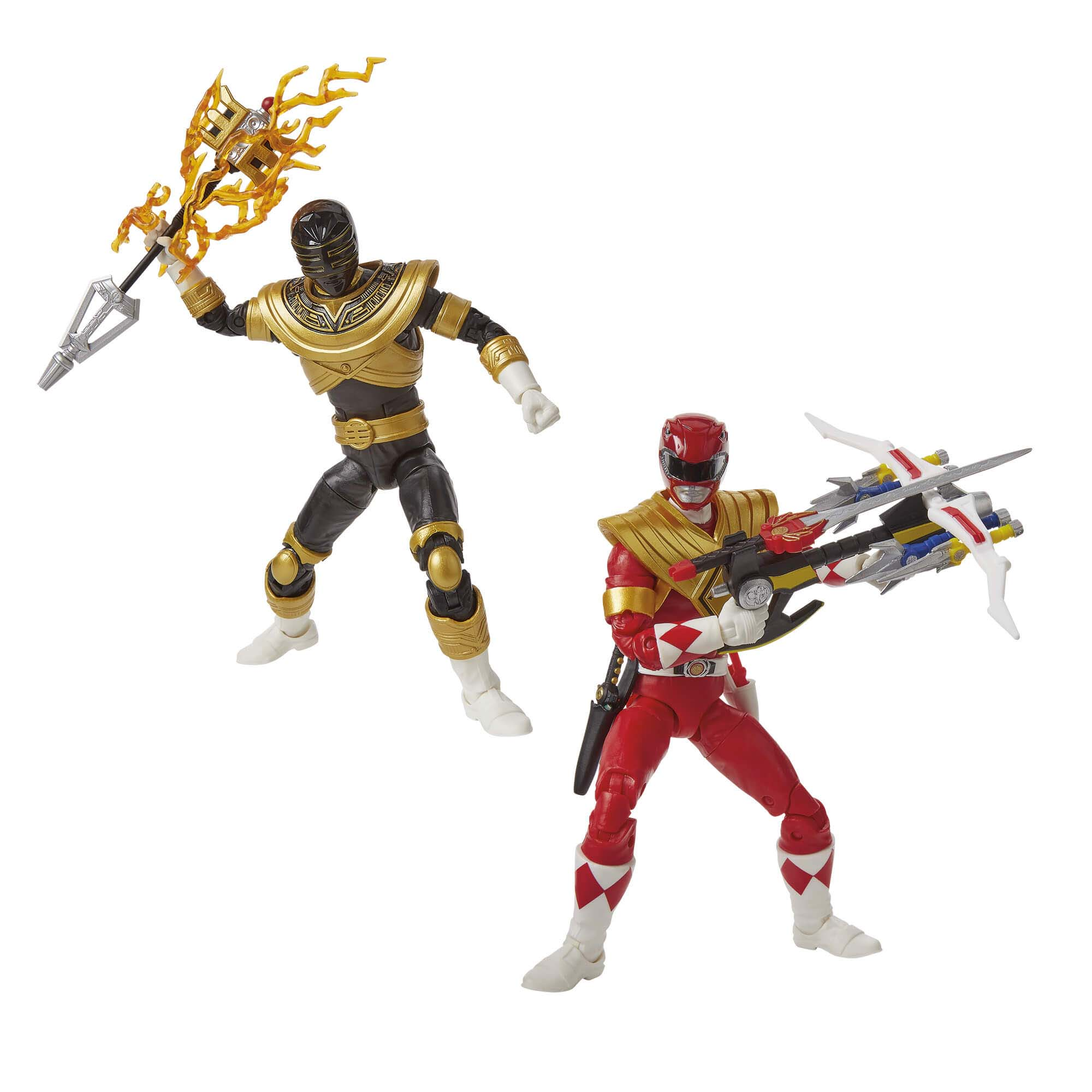 Power Rangers Lightning Collection MMPR Red Ranger & Zeo Gold Ranger
