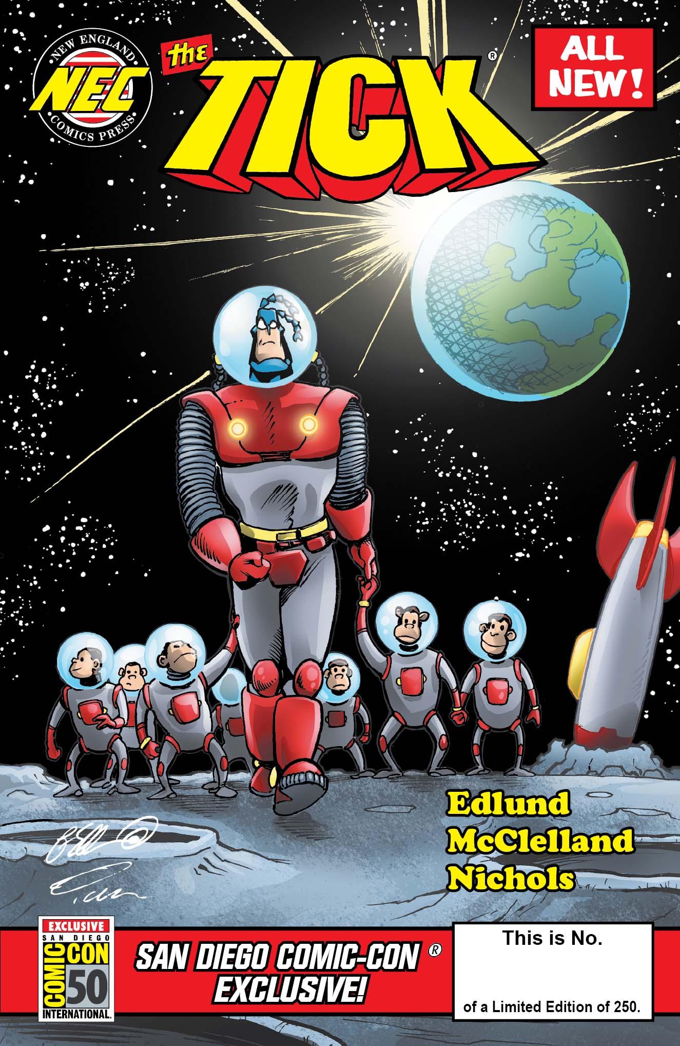 THE TICK SDCC 2019 COMIC BOOK (REGULAR COVER)