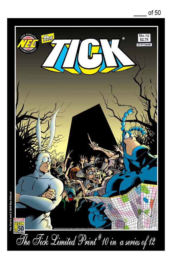 THE TICK SDCC 2019 LIMITED PRINT #10
